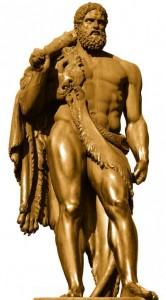 herakles bronze