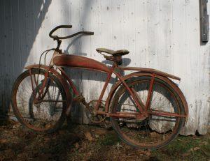 rusted bike
